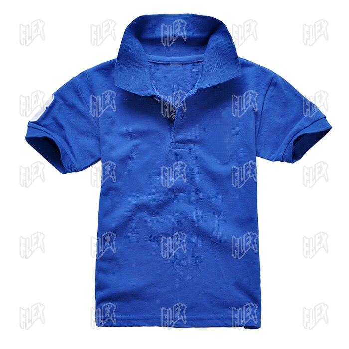 2-15Years niños T camisa 2018 verano nuevo bebé niño niñas pantalones cortos de manga Camisa de algodón adolescente niños camisas ropa
