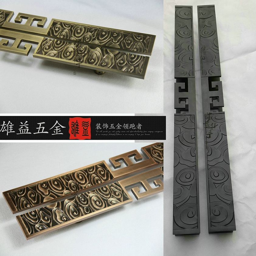 Cheap Chinese antique clouds bronze door handle wooden door handle modern luxury hotel glass door handle bronze glass door handle modern european luxury stainless steel door handle chinese antique wooden door handles