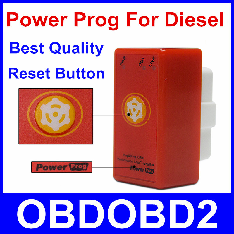 Newest Version Nitro OBD2 Power Prog For Diesel More Power & Torque Than Nitroobd2 With Reset Button Car Chip Tuning Free Ship