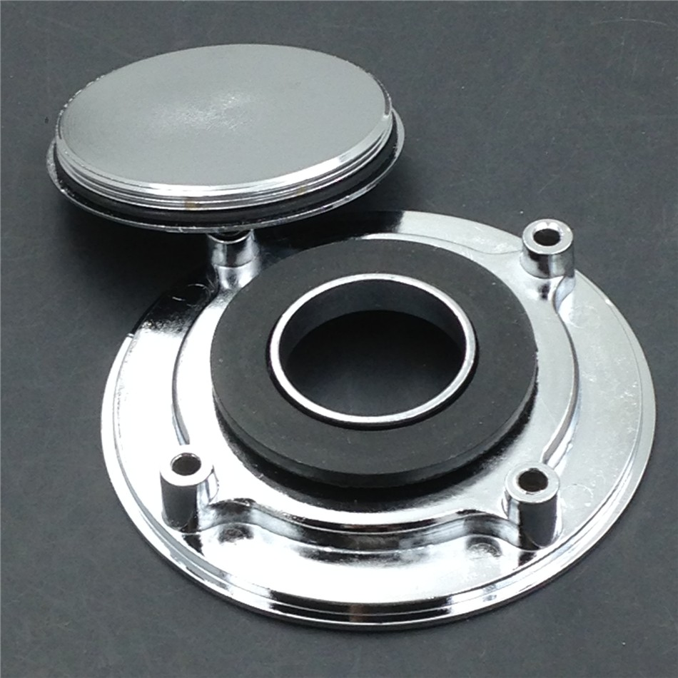 Aftermarket free shipping motorcycle parts Fuel Tank Gas Cap For GSX-R 600 750 1000 GSX 1300R Hayabusa SV 650 TLR CHROMED aftermarket free shipping motor parts for motorcycle 1989 2007 suzuki katana 600 750 billet oil brake fluid reservoir cap chrome