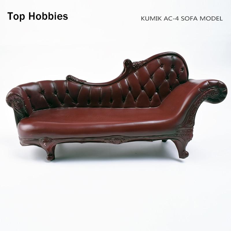 Сцены аксессуар мебель в стиле ретро 1: 6 kumik ПВХ диван дерева кресло качалке модель игрушки куклы Fit 12 дюймов Phicen фигурку