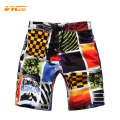 VICVIK brand 2016 Boys Board Shorts Kids Bermuda Male Swim Shorts Swimwear Brand Children Sea Waves Swimwear Custom Fast Drying