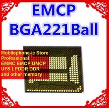 KMRC10014M-B809 BGA221Ball EMCP 64 + 32 64 Гб памяти мобильного телефона новые оригинальные и б/у припаянные шарики протестированы ОК