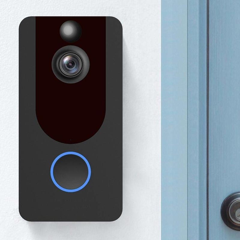 V7 HD 1080P Smart WiFi Video Doorbell Camera Visual Intercom With Chime Night Vision IP Door Bell Wireless Security Camera New