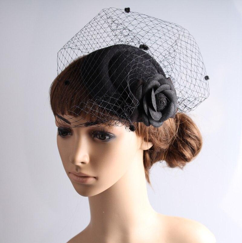 Classical Color Fascinator Headwear Colorful Mesh Wedding Bridal