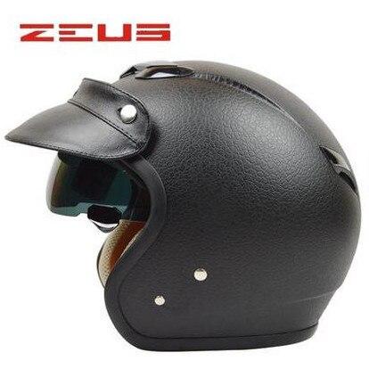 Taiwan Open Face Motorcycle Helmet DOT approved Jet Helmet with sunglass retro style chopper bike helmet