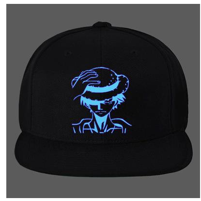 Novelty & Special Use Men Women Anime One Piece Monkey D Luffy Printing Cotton Hat Sport Luminous Hat Baseball Cap Unisex Accessories Cosplay Hip-hop Kids Costumes & Accessories