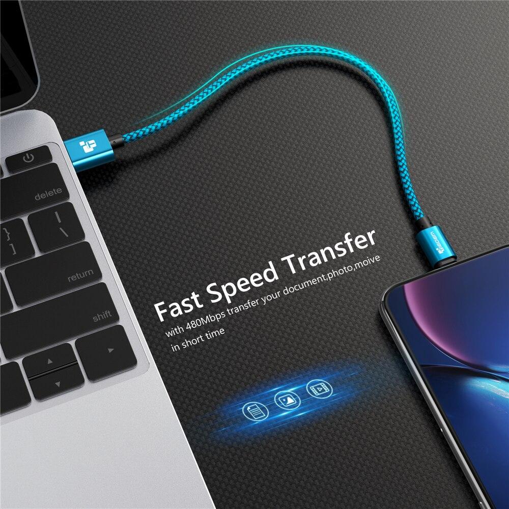 Tiegem USB Kablosu iphone 7 8 6 5 6 s S 5 se artı X XS MAX XR Kablo - Cep Telefonu Yedek Parça ve Aksesuarları - Fotoğraf 4