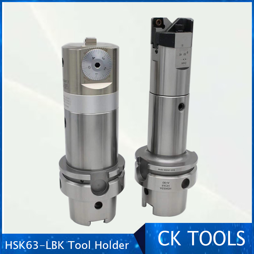 <font><b>HSK63A</b></font> LBK boring tool holder holders image