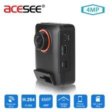 Acesee Mini S1 Car Camcorder 1296P Car DVR Camera Ambarella Chip Dash Cam with Wide Angle,G-Sensor,  Video Recorder Night Vision