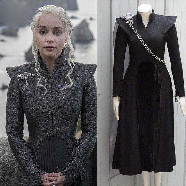 Game of Thrones Saison 7 Daenerys Targaryen Cosplay Halloween Party ...