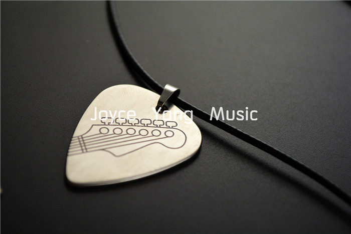 Niko Hand Made Rock & Roll Style Metal Guitar Pick Necklace Stainless Steel Picks Free Shipping