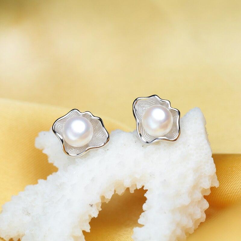 FENASY Süßwasser Perlen Schmuck Sets S925 Sterling Silber - Edlen Schmuck - Foto 2