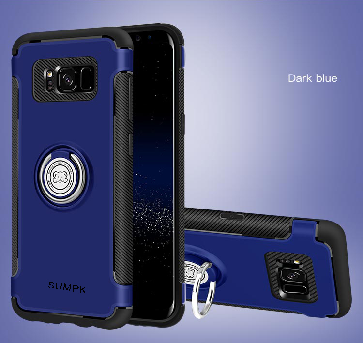 Kasus ponsel SUMPK untuk samsung s8 2 in 1 Magnetic car Holder Kasus - Aksesori dan suku cadang ponsel - Foto 6