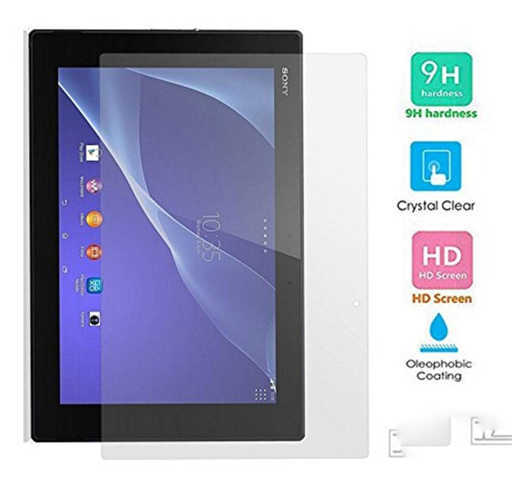 Sony Xperia Z2 Tablet 10.1 Tempered Ekranın Qoruyucusu Sony Xperia Tablet Z2 üçün 0.3mm Partlayışa Qarşı Qoruyucu Qalxma