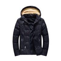 Зимние Для мужчин новая модная куртка утепленная парка Для мужчин теплое пальто меховой Для мужчин парки Толстые куртки Плюс Размеры Y 044