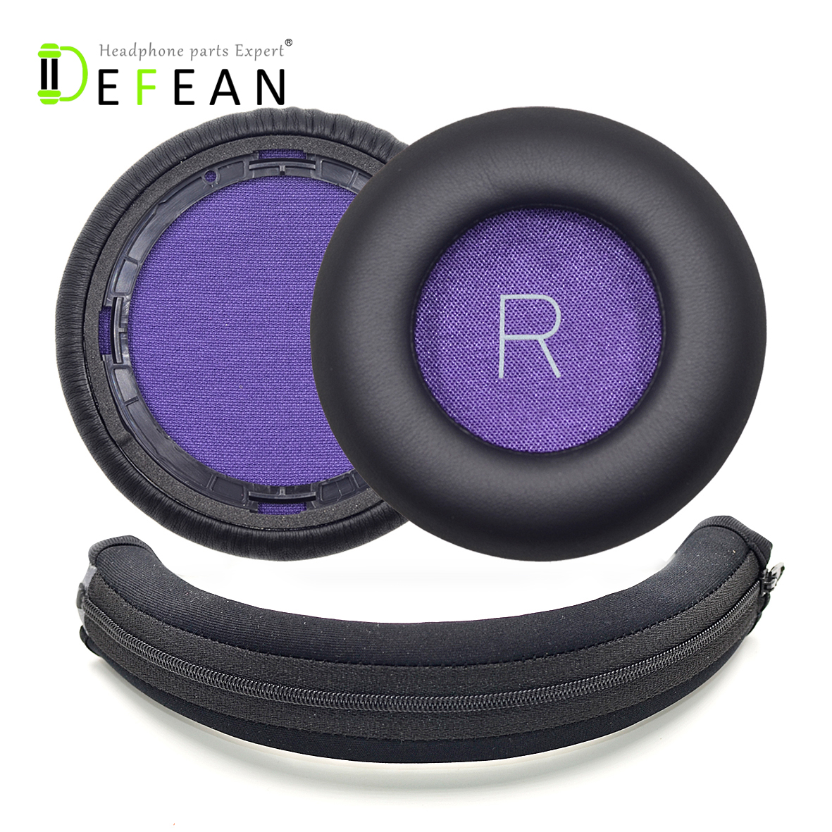 Defean Replacement Headband Protector Protective and Ear Pads for Plantronics backbeat pro Wireless Noise canceling Headphone-in Earphone Accessories from Consumer Electronics