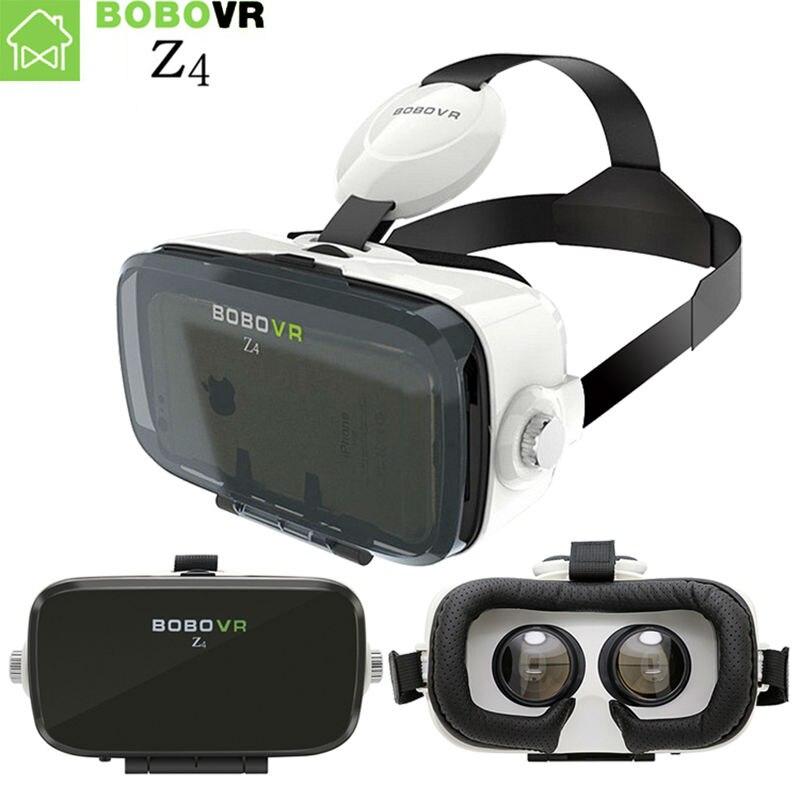 BOBOVR Z4 Mini BOÎTE VR Réalité Virtuelle lunettes 3D Lunettes bobo vr google carton VR Verre Pour 4.3-6.0 pouce smartphones
