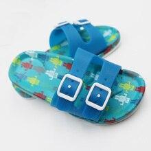 Summer Children Shoes Girls Boys Slippers Cartoon Fashion Kids Slippers Anti-Slip Beach Shoes Slide Sandals