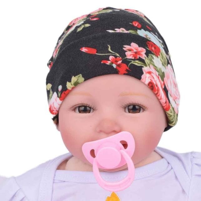 905d3a24622 hat 2018 newborn Hospital Hat Baby Hats With Flower Bowknot Flower kids  hats baby bonnet for baby girl boys best love-in Hats   Caps from Mother    Kids on ...