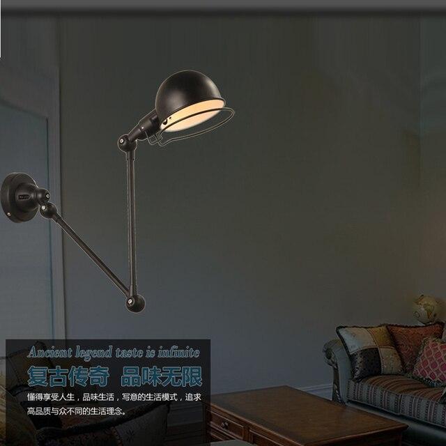 Uitbreiding muur lampen slaapkamer Stretch wandlampen woonkamer ...