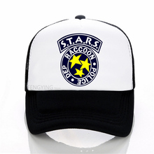 S.T.A.R.S Mesh Baseball Cap Fashion Summer Snapback Camouflage Hat For Men & Women Leisure