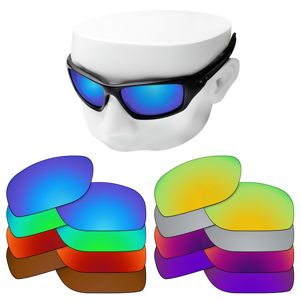 OOWLIT Polarized Replacement Lenses For-Oakley Valve OO9236 Sunglasses