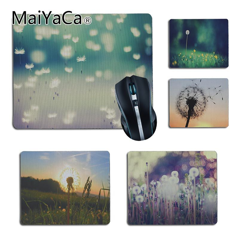 MaiYaCa Vintage Cool Dandelion Customized laptop Gaming small mouse pad Size for 180x220x2mm and 250x290x2mm Small Mousepad