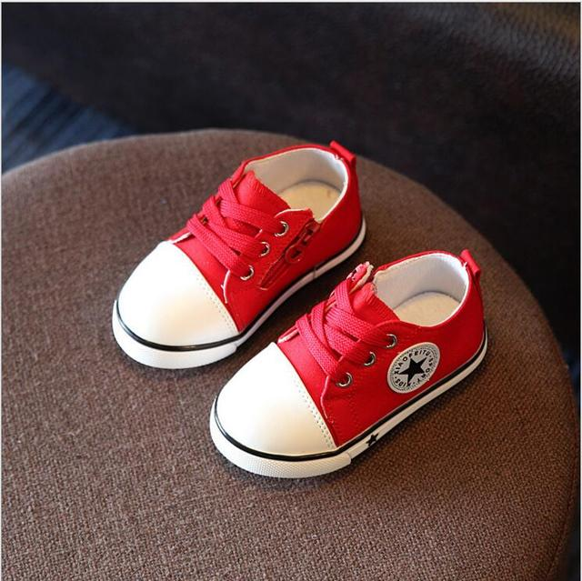 2019 Spring Canvas Children Shoes Girl Breathable Sneaker Shoes Boys&Girls Not Smelly Feet Soft Chaussure/Kids Sneakers