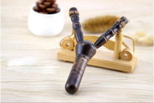 Allaperto Fionda di Legno di Bambù SlingshotShooting Giocattoli Per Bambini Puzzle Di Giocattoli Di Bambù per Esterni In Legno Fionda