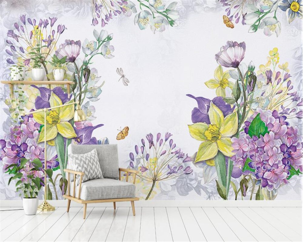 Beibehang Custom Wallpaper Home Decoration Modern European
