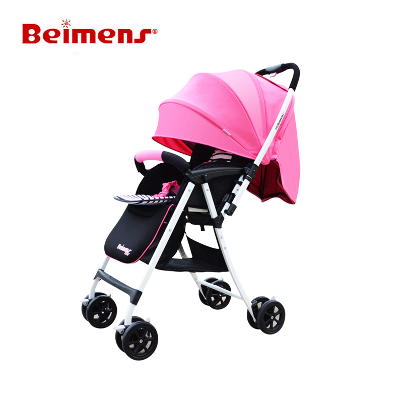 Cars Baby Strollers Beimens Prams Sit and Lie Carriages Anti-ultraviolet Hood Safe sit