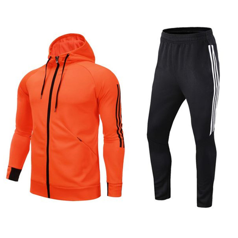 Men Sportswear Running Suit Sweatshirt Pants Tracksuit Jogging Suits Women Outdoor Basketball Soccer Sports Suits