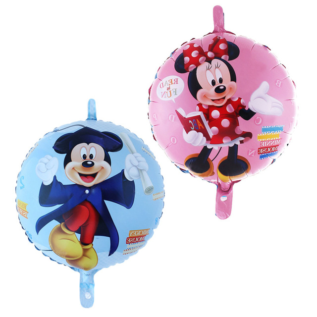 Mickey And Minnie Wedding.18inch Cute Mickey Doctor Balloons Cartoon Mickey Minnie Mouse Helium Ballons For Kids Birthday Party Wedding Decorations 45cm In Ballons