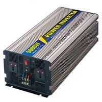 5000W Pure Sine Wave Inverter For Solar Panel 12VDC 24VDC 48VDC To AC110V 220V For Small
