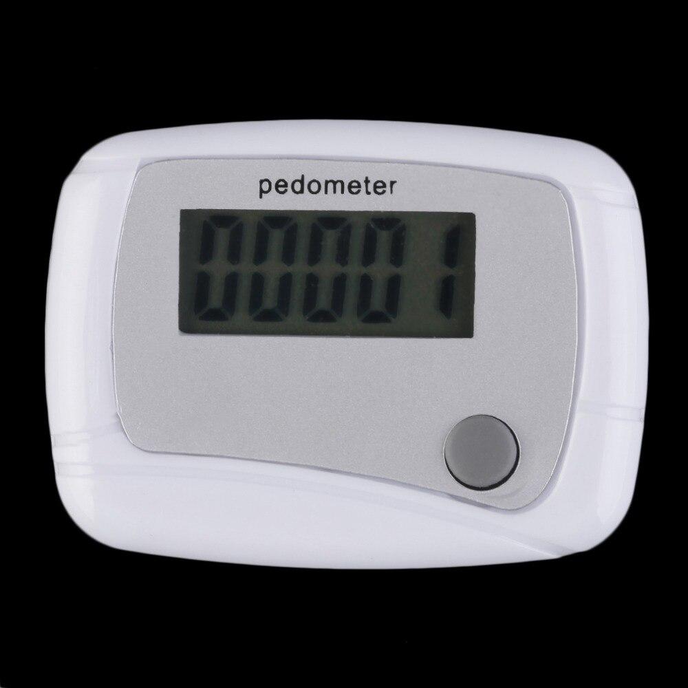 Portable Mini Plastic Digital LCD Running Step Pedometer Walking Distance Counter Arm Belt Calculator Men Women Sports Equipment