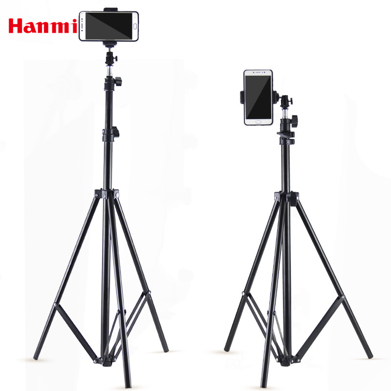Hanmi New DSLR Camera Mobile Tripod Mount Light Stand Tripod Mount For Phone Mini Camera Cellphone Hand Tripod