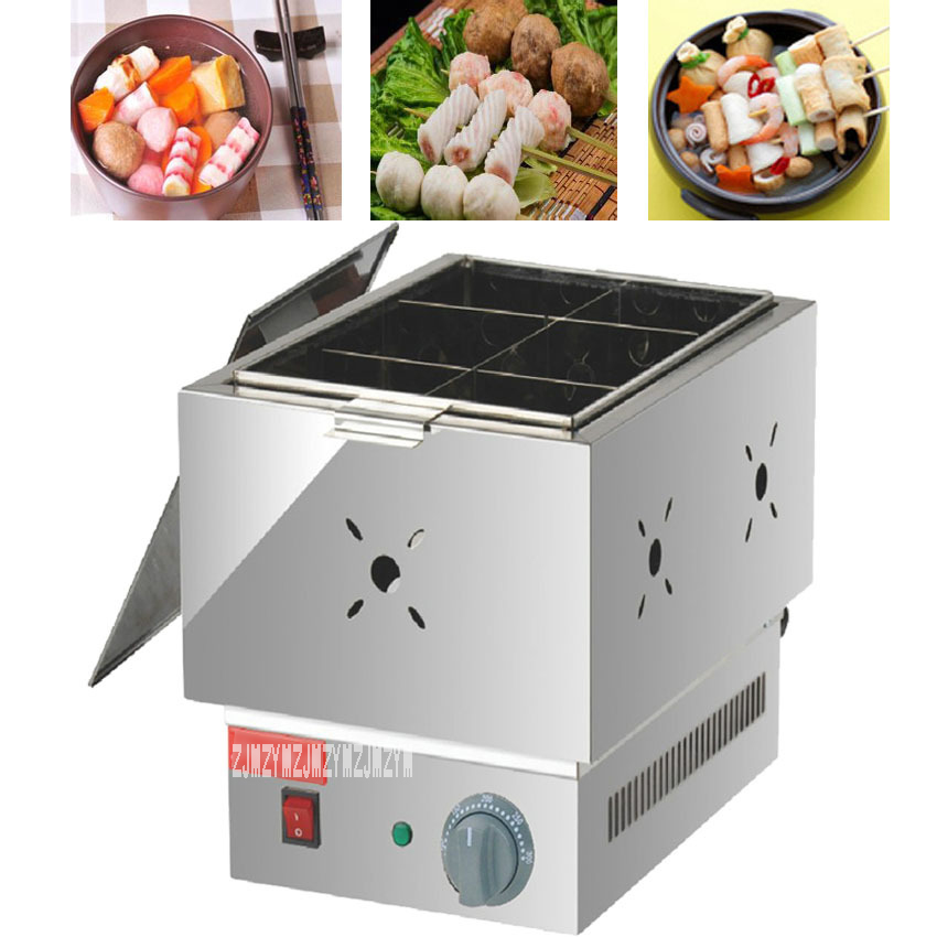 1pc Commercial six grid thickened FY-11 electric Kanto cooking Mala Tang machine Snack equipment cooking pot1pc Commercial six grid thickened FY-11 electric Kanto cooking Mala Tang machine Snack equipment cooking pot