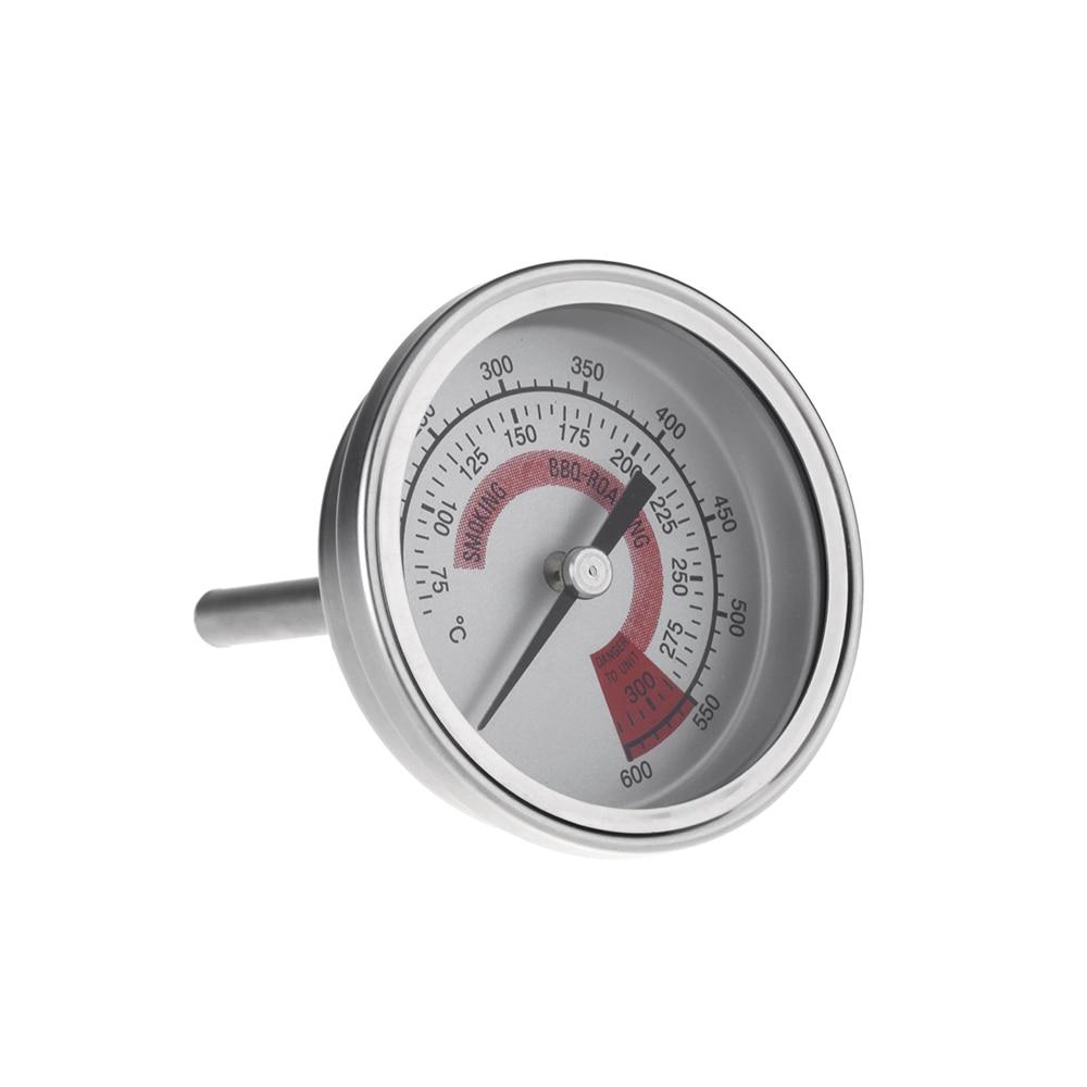 """Формы для выпечки F/C 2,2"""" нержавеющая сталь барбекю коптильня питгриль термометр датчик температуры с двойной Gage 300 градусов Инструменты для приготовления пищи"""