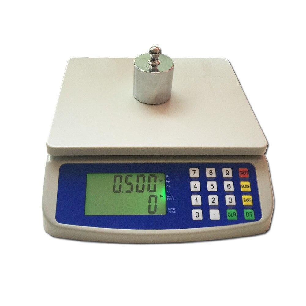 Oman-T580 30 кг/1 г нержавеющая сталь пищевая диета граммы кухонные весы Почтовые весы портативные весы