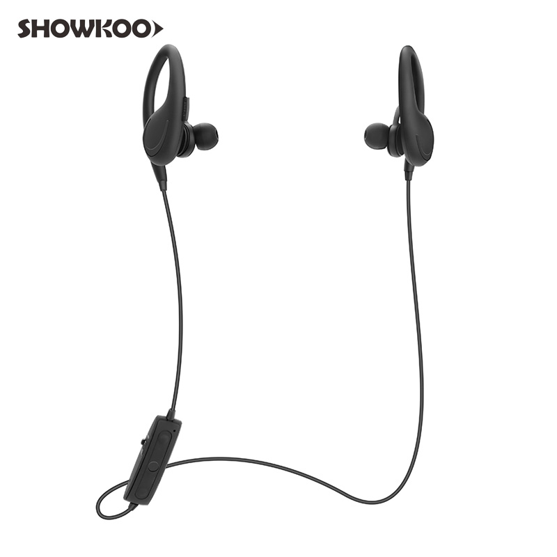 Showkoo Stereo Headset Bluetooth Wireless Headphones with Microphone fone de ouvido Sport Earphone for Women Girls Auriculares ttlife mini bluetooth earphone usb car charger dock wireless car headphones bluetooth headset for iphone airpod fone de ouvido