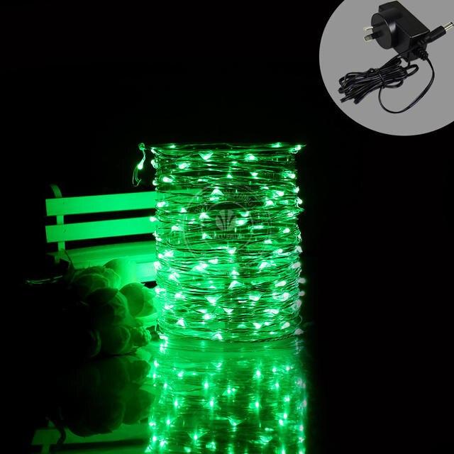 2 Stuks Partij Led Zilver Draad Sting Verlichting Kerstboom