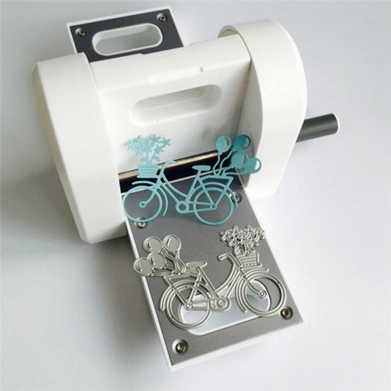 Машина для скрапбукинга высечки машина для тиснения стальная машина для скрапбукинга резак для зеленой бумаги высечки DIY машина - 2