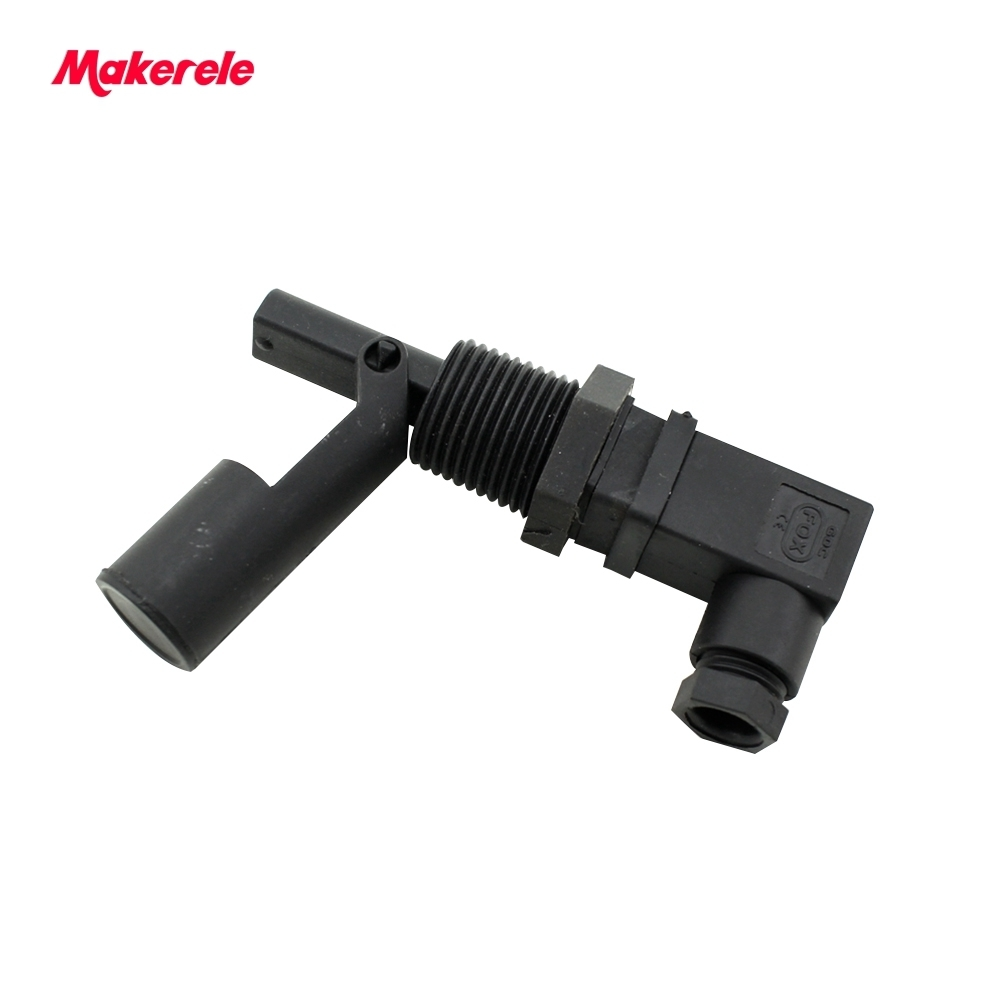 220v Side Mount Horizontal Water Level Sensor 110v MK-PCFS9 Hoffmann Connector Liquid Float Switch for Tank Garden from makerele mj uqk 6 mini submersible pump with float switch small flow high chemical resistance oil tank level switch liquid level sensor