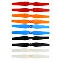 Hot sale hélices opção 5 cores 8 pcs para syma x8 x8c x8w x8g props hélices de reposição da lâmina principal