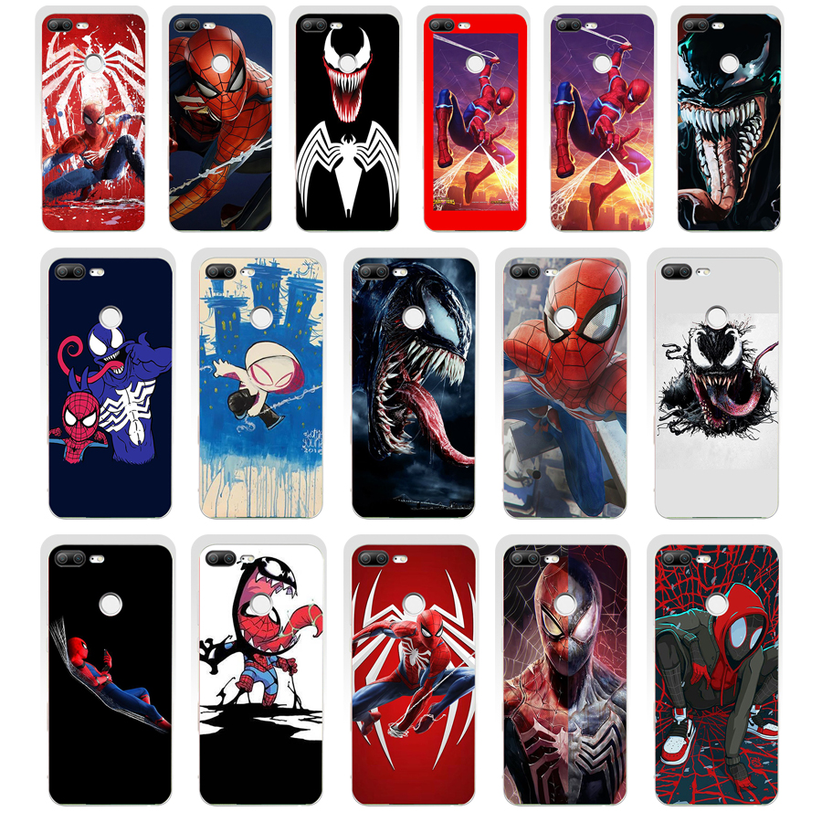 88SD <font><b>Marvel</b></font> Comics Spider-Man Spider Man gift Soft Silicone Tpu Cover <font><b>phone</b></font> <font><b>Case</b></font> for huawei <font><b>Honor</b></font> 8 <font><b>9</b></font> <font><b>Lite</b></font> 8X p <font><b>9</b></font> <font><b>lite</b></font> 2016 image