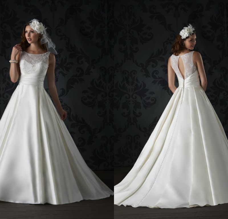 Romantic Simple Affordable Cheap Elegant Gown A Line Satin