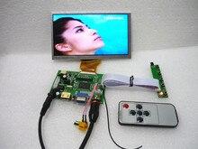 HDMI + 2 av + VGA ЖК дисплей драйвер платы + 6,5 дюйма ЖК дисплей панель AT065TN14 800*480 + OSD клавиатура. Бортовой DYI наборы