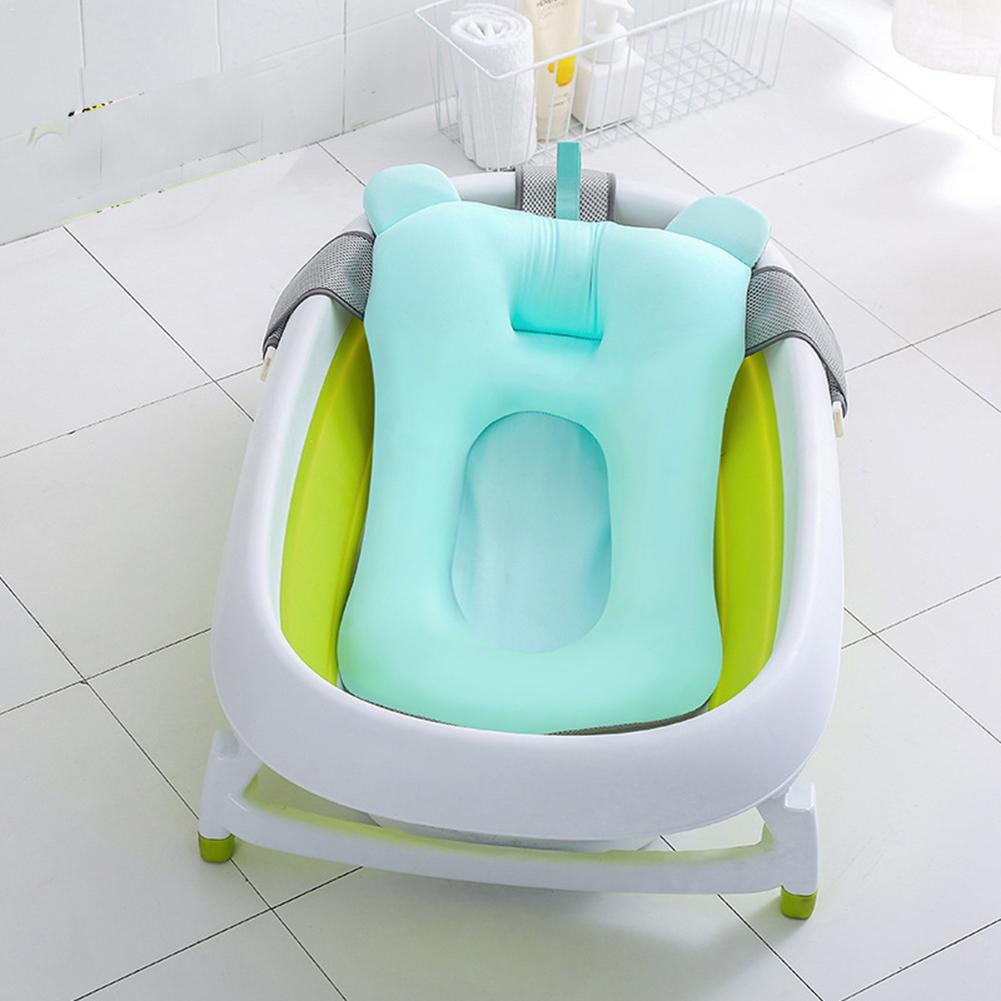 Baby bath tub Newborn Baby Foldable Baby bath tub pad & chair ...