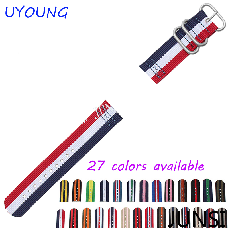 High Quality Nylon Watch Strap For Iwatch Band 38mm 42mm